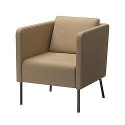 EKERÖ Chair - Skiftebo beige - IKEA