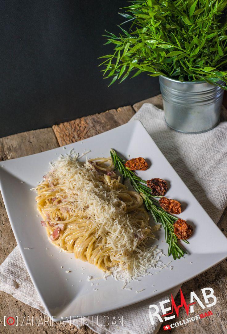 carbonara spaghetti