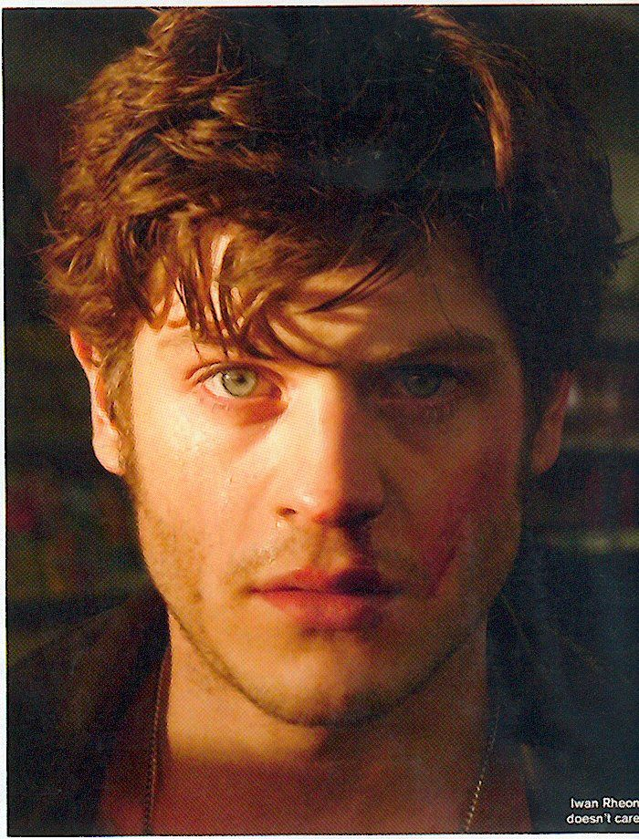 Iwan Rheon. I'm frightened by my Ramsey Bolton feels! Help! He...Is...Terrifying!