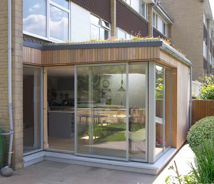 Eco Extension To 1960s Townhouse In Bristol Modern Dining Room By DHV Architects