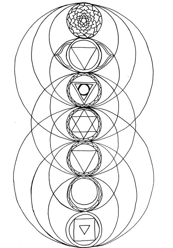chakra coloring pages Coloring