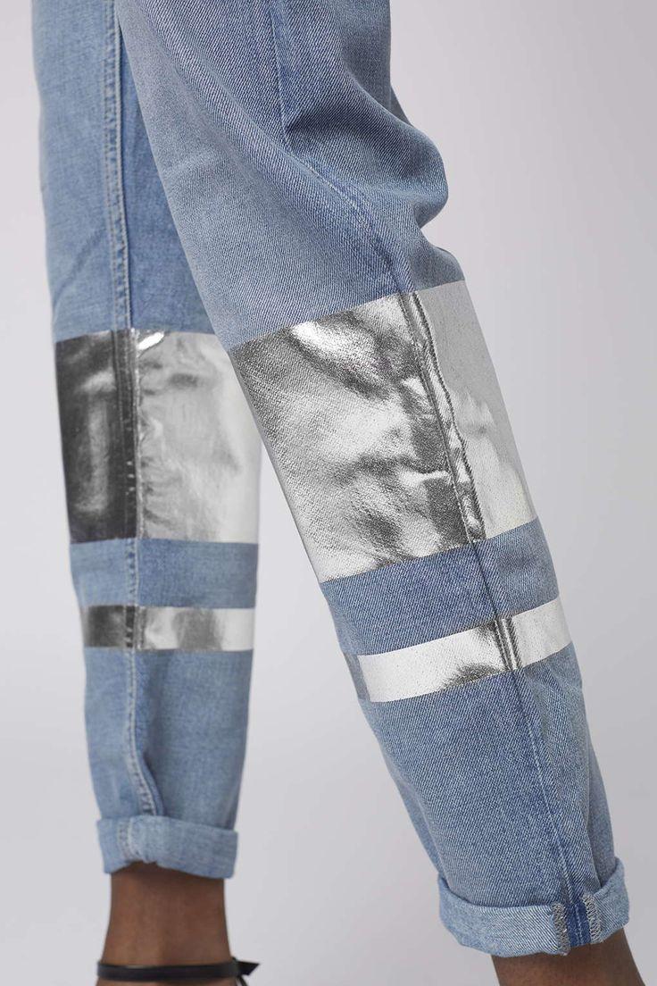 MOTO Stripe Hem Hayden Jeans