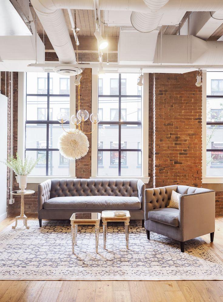 living livingroom home tuftedsofa sofa chair velvet
