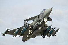 Saab JAS 39 Gripen - Impressive weapons load