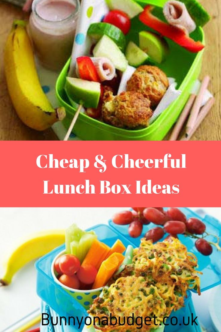 Cheap and Cheerful Lunch Box Ideas - Making your kids school packed lunch both fun and healthy is a lot easier said than done. So here are a few school packed lunch ideas for kids that will hopefully keep your kids happy and healthy during school.