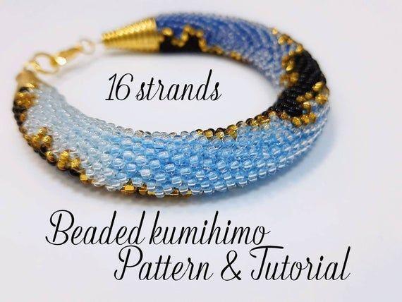 Necklace with beads Japanese TOHO Jewelry Beadwork,crochet technique slashes,Colours:Salmon,Oxblood,Sunshine,Turquoise,Beige,Gold crochet