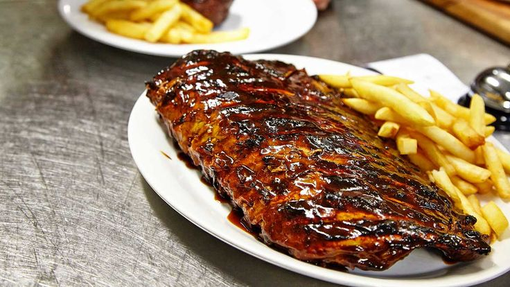 Steaks and ribs at Hurricane's Grill