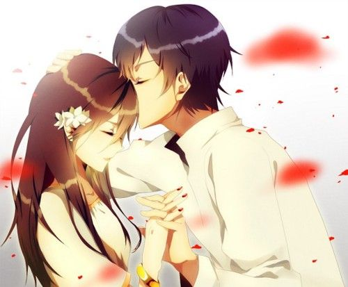 Anime Love Couples Holding Hands Hd Wallpaper Gallery