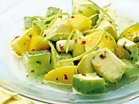 Cuban Pineapple & Avocado Salad