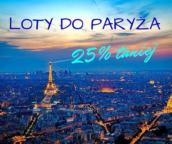 Promocja Ryanaira! Tańsze loty z Warszawy, Wrocławia i Krakowa do Paryża-Beauvais!