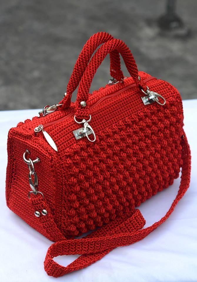 Bolsa De Festa Em Croche Passo A Passo : Melhores ideias de bolsas croch? no