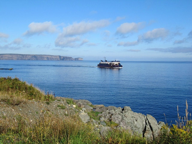 Many people come to Portugal Cove to take the ferry to Bell Island, which is…