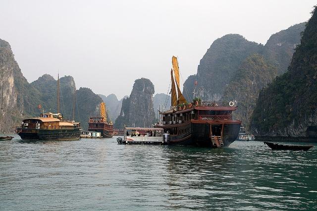 Halong Bay, Vietnam (UNESCO World Heritage Site)