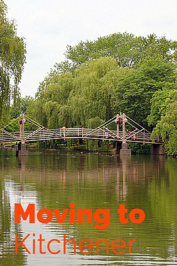 Moving to Kitchener, Ontario