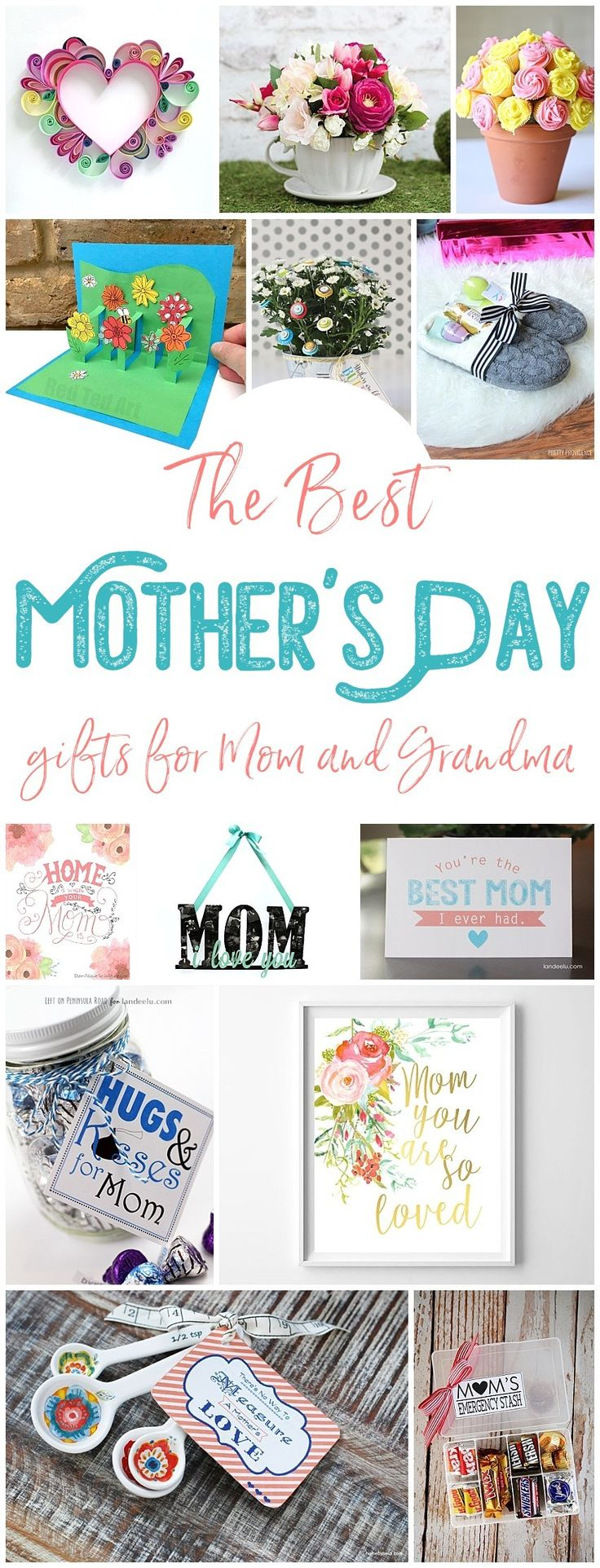 The BEST Easy DIY Mother's Day Gifts and Treats Ideas – Holiday Craft Activity Projects, Free Printables, Kids Paper Crafts and Favorite Brunch Desserts and Party Beverage Recipes for Moms and Grandmas - Dreaming in DIY