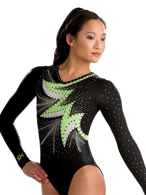 Bold Burst Comp Gymnastics Leotard from GK Elite.....looks like our leos @adrienneschei98