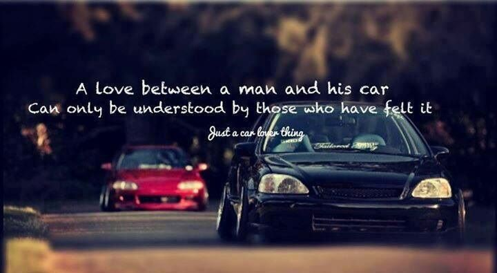A Love Between A Man And His Car Can Only Be Understood By Those