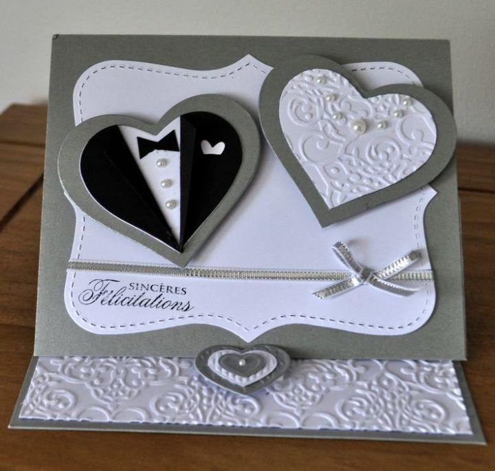 Самодельная открытка на годовщину свадьбы