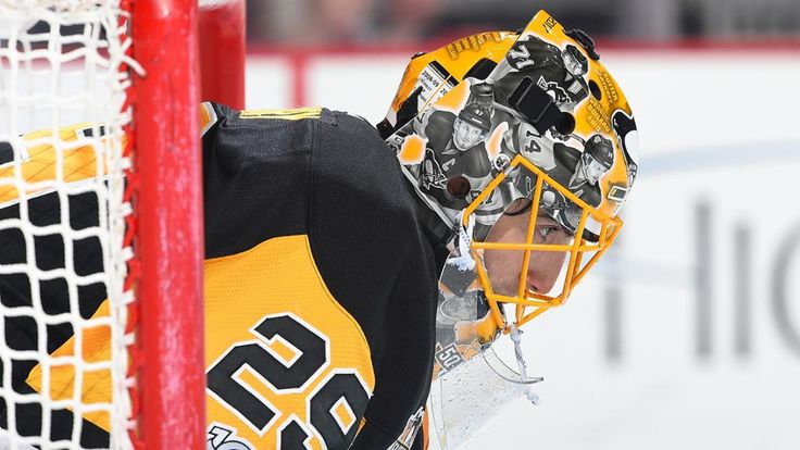 The Pittsburgh chapter of the Professional Hockey Writers' Association announced today that goaltender Marc-Andre Fleury is the Penguins' Masterton Trophy nominee for the 2016-17 season.