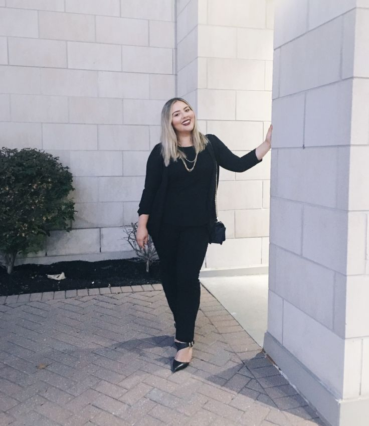 Blogger Rebecca looking pretty in our Instant smooth pants. #loverickis #rickisfashion #fall #fall2017 #fallfashion #rickisinreallife #instantsmooth #pants