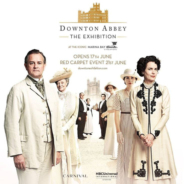 """12k Likes, 200 Comments - Downton Abbey (@downtonabbey_official) on Instagram: """"Lord and Lady Grantham would like to welcome you all to the grand opening day of Downton Abbey: The…"""""""