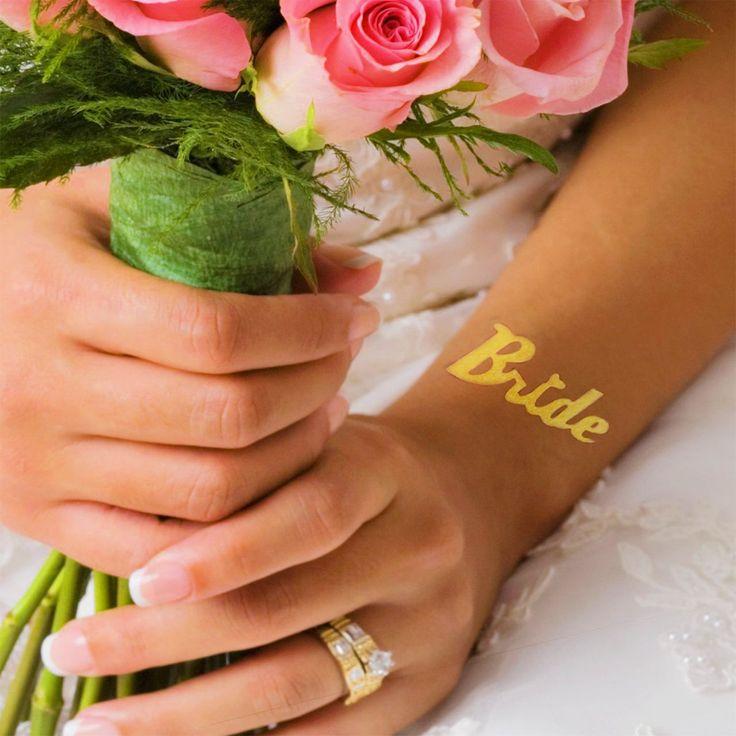 Tatuaje temporare Mirese - Bride tattoo, Team bride tattoo SHOP @ www.goldtattoo.ro
