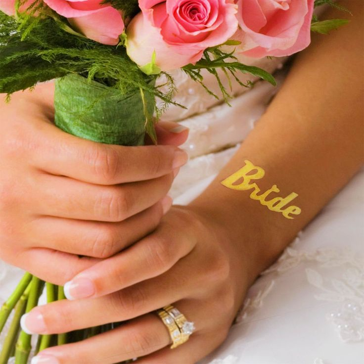 Tatuaje temporare Mirese - Bride tattoo, Team bride tattoo SHOP @ www.goldtattoo.ro