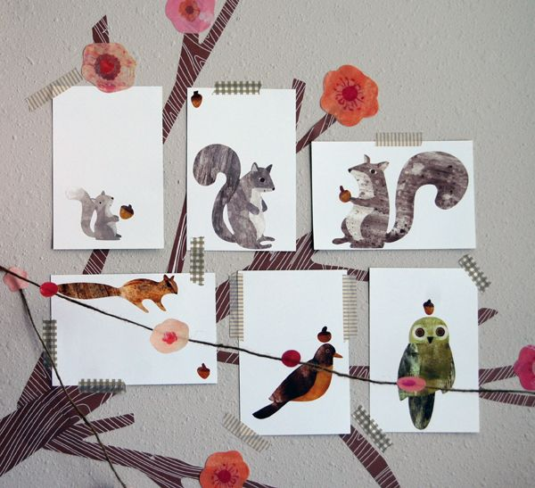 Wall Stories Woodland Creatures