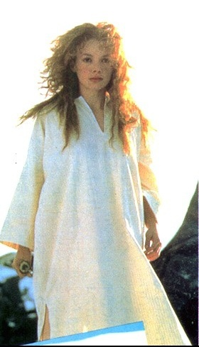 "Sorsha (played by Joanne Whalley) in Willow, a 1988 collaboration fantasy film between Ron Howard and George Lucas.  Love the line where she is outraged at the Mad Martigan character, how fast he fell out of love : Sorsha --""I Dwell in Darkness without you AND IT WENT AWAY?!"", Martigan ""well yeah"" [her elbow to his throat, her knee to his groin]."