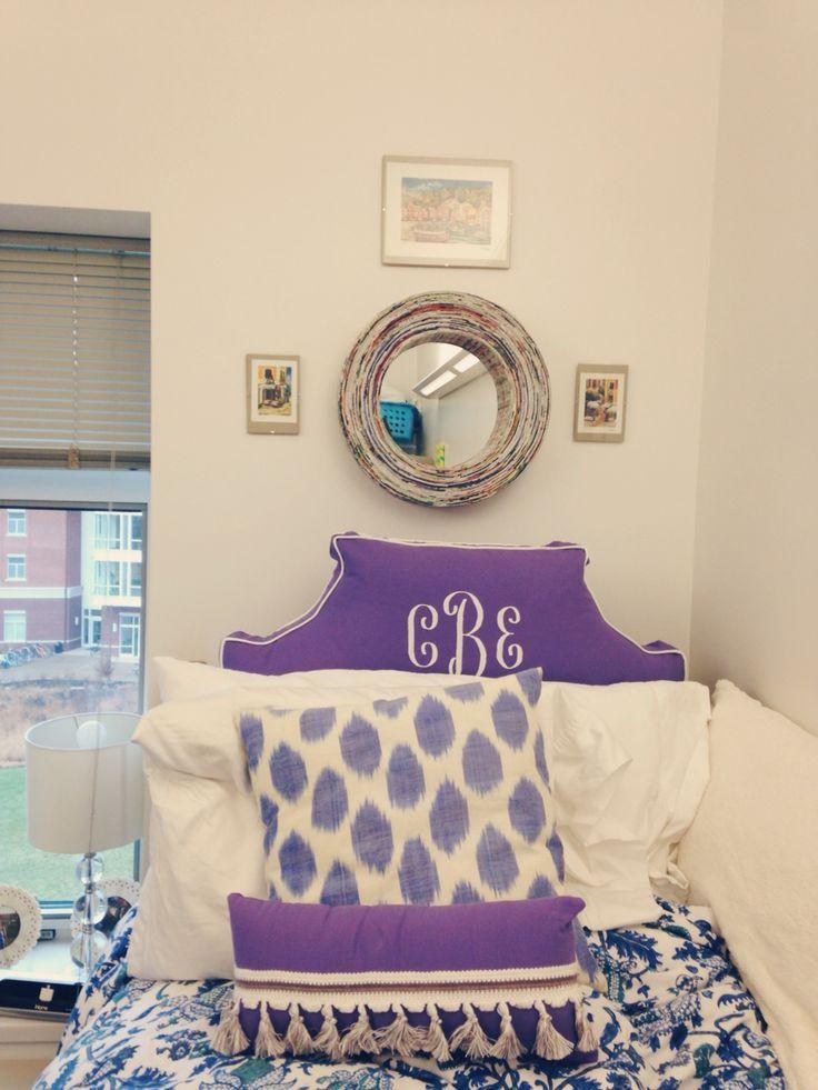 The 25 Best Purple Dorm Rooms Ideas On Pinterest Dorm