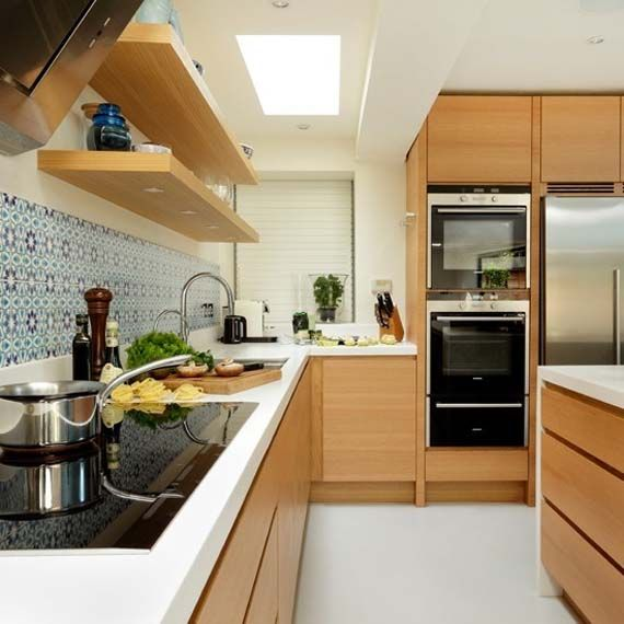 Small G Shaped Kitchen Designs: L Shape, Kitchens With Islands And Kitchen Layouts
