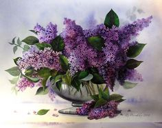 Lilac Watercolor Paintings - Bing Images