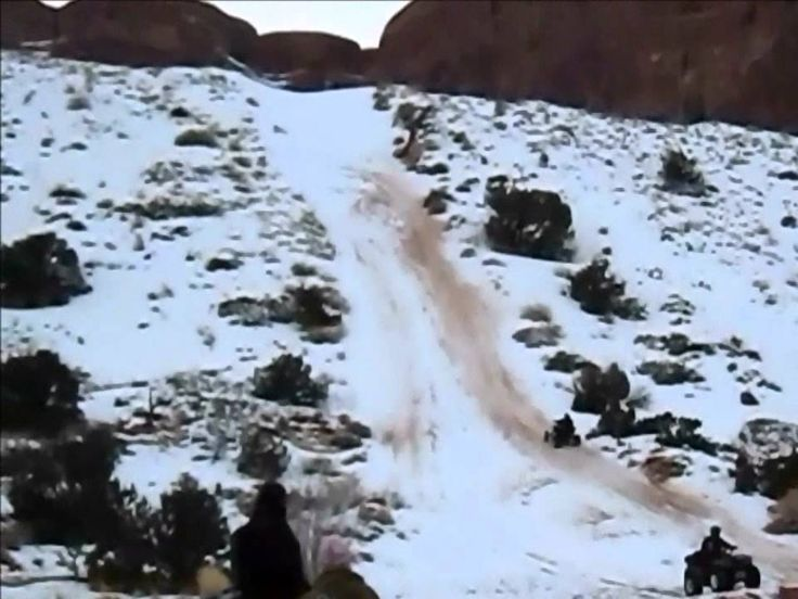 Extreme Riding on a four wheeler - ATV in Moab, Utah. Motorcycle and ATV Parts and Accessories http://www.digitsy.com/us/item/1934838063