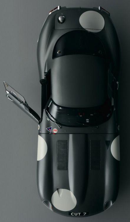 Jaguar - Matte Black E-Type