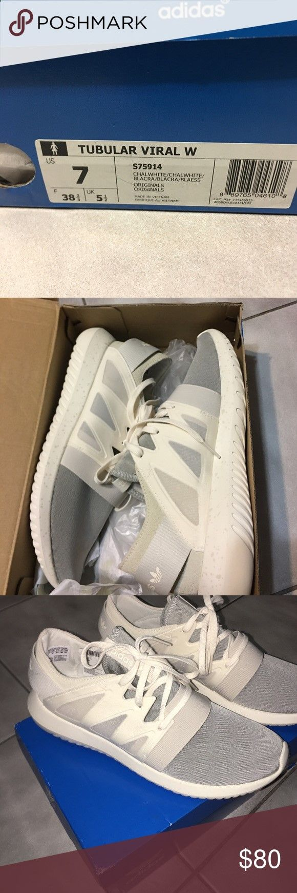 Tubular Viral Adidas Brand new tubular viral adidas womens size 7 Adidas Shoes Sneakers