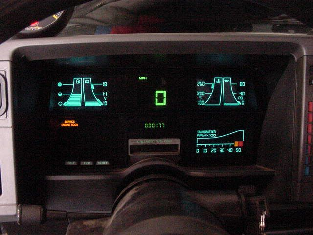 ds 90 wiring diagram a look back at some early gm digital dashboards  a look back at some early gm digital dashboards