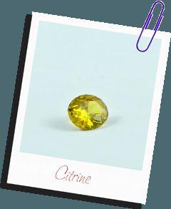 Batu Aura Kelahiran November – Citrine - Akik Permata Mulia