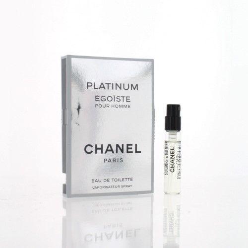 Egoiste Platinum 2 Ml Eau De Toilette Spray by Chanel NEW Box for Men #EGOISTEPLATINUM
