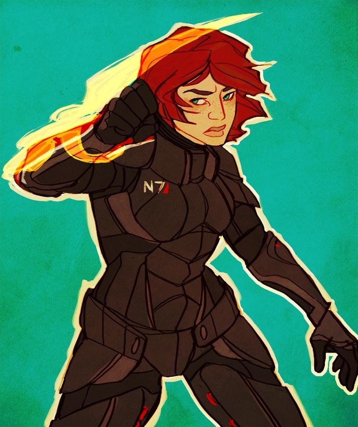 Female Shepard fanart: Geek Stuff, Biowar Ate, Shepards Fanart, Shepards Forever, Female Shepards