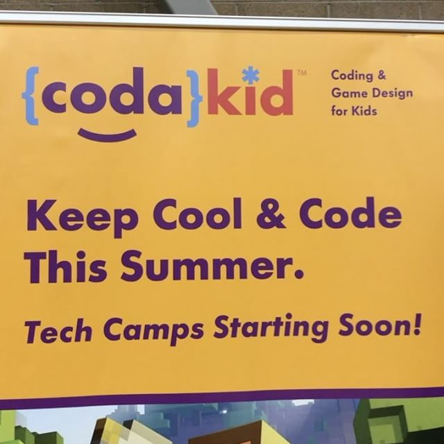Have a child interested in coding?! Here's what @codakidacademy has to offer! Come check them out  #schoolsout #summerbreak #summercamp #arizonasummercamp #summer #schoolsout #campfair #campfairaz #codakid #minecraft #java #javascript