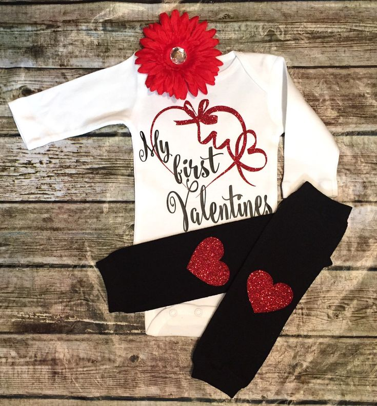A personal favorite from my Etsy shop https://www.etsy.com/listing/261250842/valentines-onesies-baby-girls-valentines