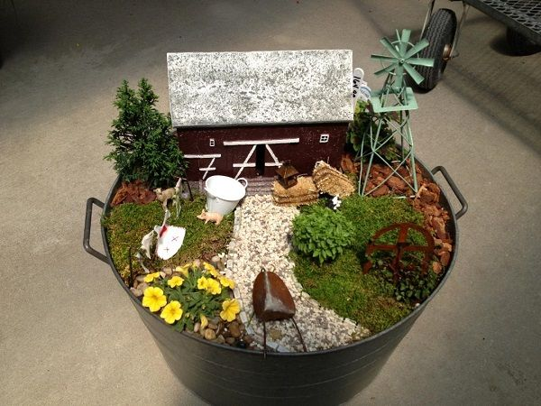 Miniature Garden Farm