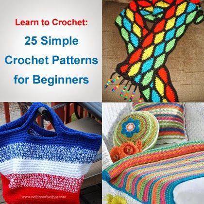 Crochet For Children: Learn to Crochet: 25 Simple Crochet Patterns for B...