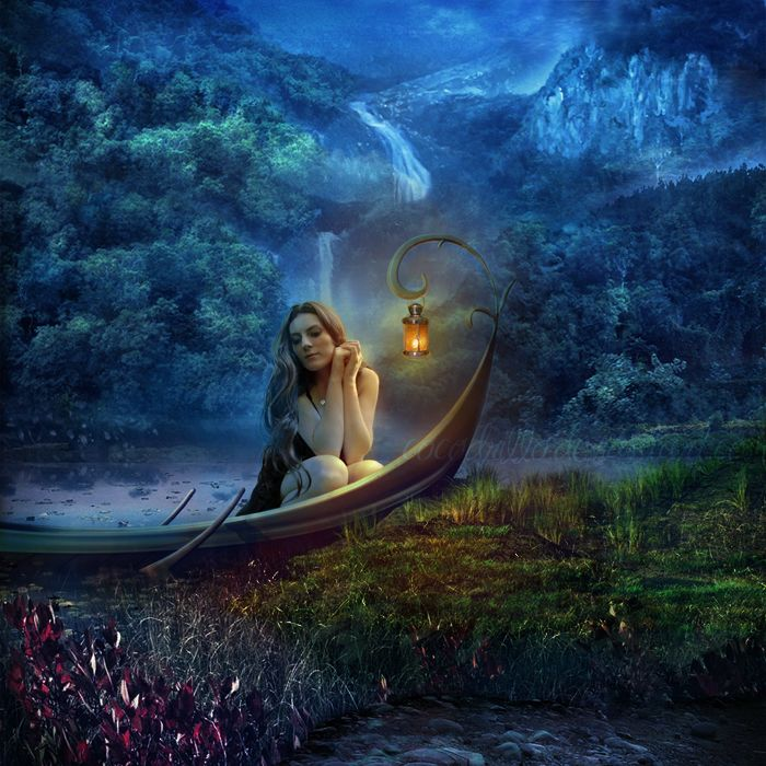 kingray:    Enchanted sanctuary by *Cocodrillo