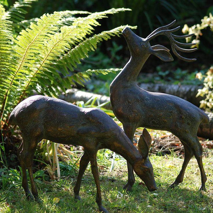 A pair of deers.
