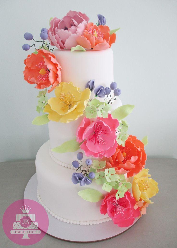 Summer Floral Cake 2015
