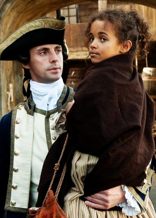 Sir John Lindsay and Dido Elizabeth Belle - Matthew Goode and Cara Jenkins in Belle, set between 1765 and 1783 (2013).