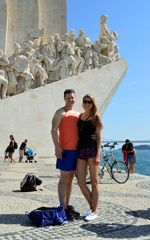 Monument of Discovers. Belem Bike Tour.