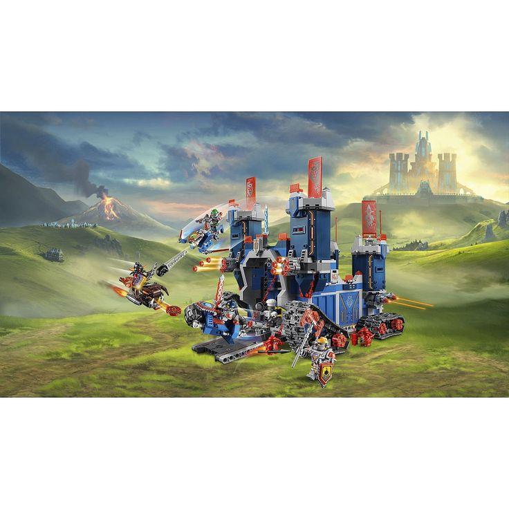 Atrévete a entrar en Fortrex y lleva tus caballeros de LEGO Nexo Knights a la victoria.