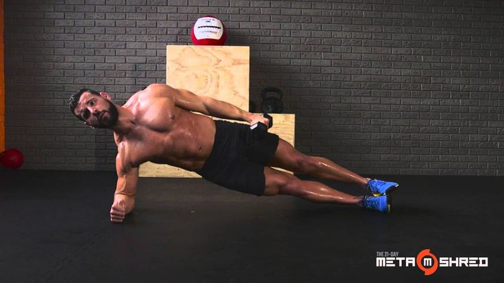 Bodybuilder Burnouts Workout from the 21-Day MetaShred DVD